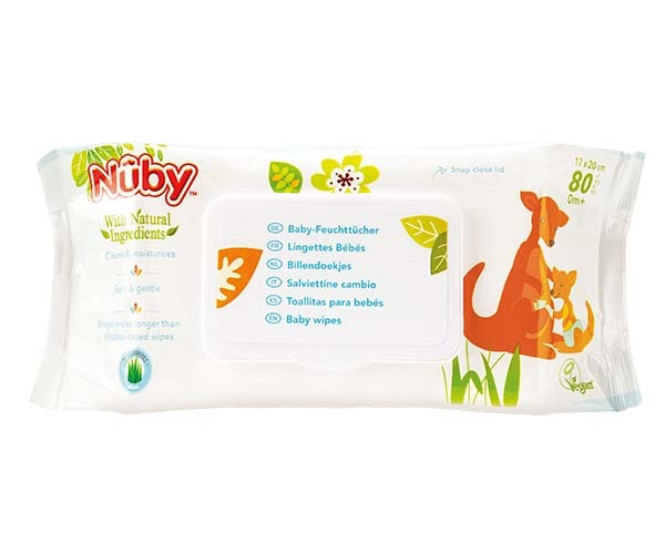 Baby wipes – 80 wipes - 0m+